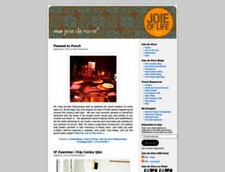 joieoflife.wordpress.com screenshot
