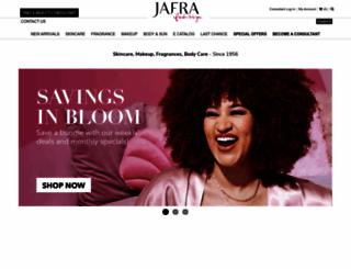 join.jafra.com screenshot