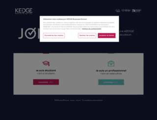 join.kedgebs.com screenshot