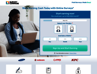 join.surveycompare.co.za screenshot