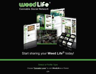 join.weedlife.com screenshot