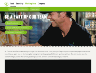 joincumberlandfarms.com screenshot