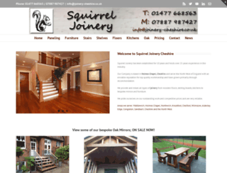joinery-cheshire.co.uk screenshot