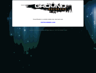 joingroundbreakers.com screenshot