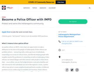 joinimpd.indy.gov screenshot