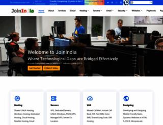 joinindia.com screenshot
