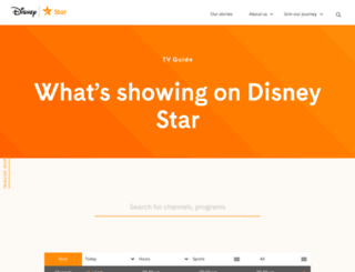 jointhegame.starsports.com screenshot