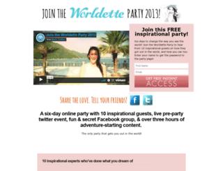 jointheparty.worldette.com screenshot