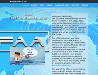 joinufaa.org screenshot