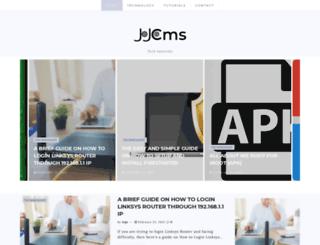 jojocms.org screenshot