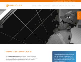 jojusolar.co.uk screenshot