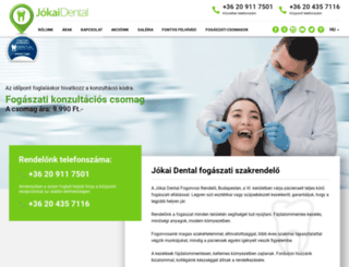 jokaidental.hu screenshot