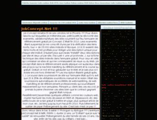 jokconcept.net screenshot