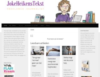jokeheikenstekst.nl screenshot