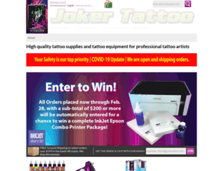 jokertattoo.net screenshot