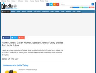 jokes.indiaeveryday.in screenshot