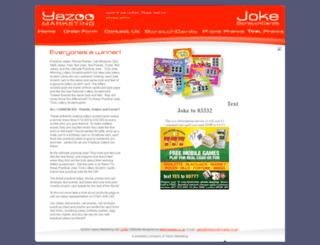 jokescratchcards.co.uk screenshot
