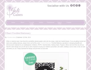 joli-cakes.com screenshot