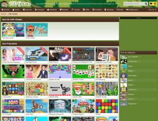 joli-visage.jeuxdelajungle.fr screenshot