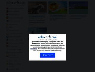 joliecarte.com screenshot