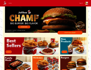 jollibeedelivery.com screenshot