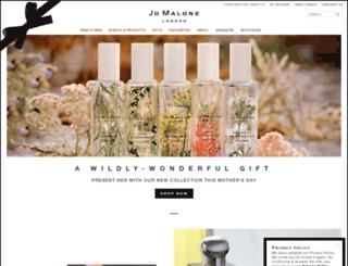 jomalone.co.uk screenshot