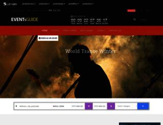 jomevents.comdev.eu screenshot