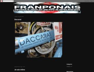 jon-franponais.blogspot.com screenshot