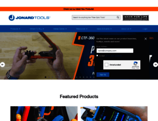jonard.com screenshot