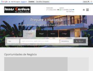 jonascardoso.com.br screenshot