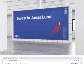 jonaslund.com screenshot