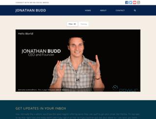jonathanbudd.com screenshot