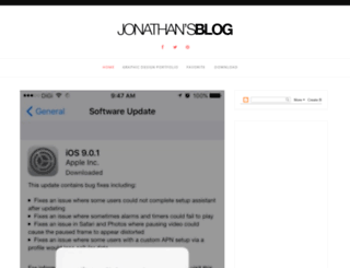 jonathanliew.com screenshot