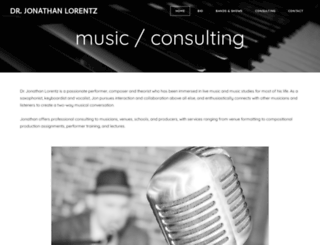 jonathanlorentz.com screenshot
