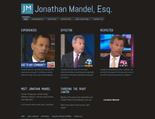 jonathanmandelaw.com screenshot
