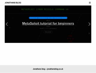 jonathansblog.co.uk screenshot