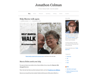 jonathoncolman.org screenshot