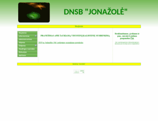 jonazole.lt screenshot
