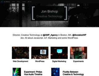 jonbishop.com screenshot