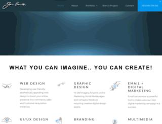 jonburtondesign.com screenshot