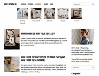 jonesdesigncompany.com screenshot