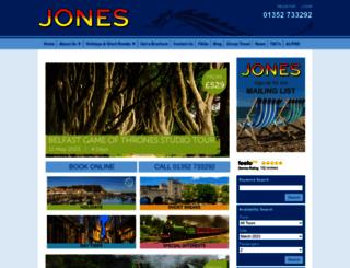 jonesholidays.co.uk screenshot