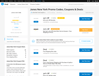 jonesnewyork.bluepromocode.com screenshot