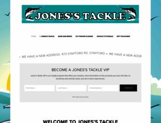 jonestackle.com.au screenshot