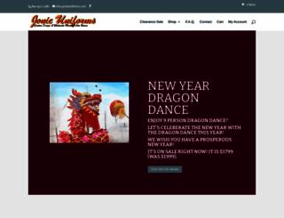 jonieuniforms.com screenshot