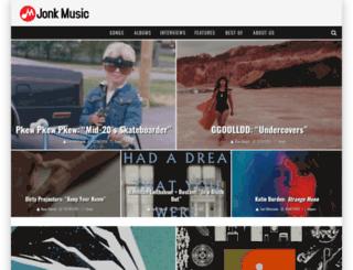 jonkmusic.com screenshot