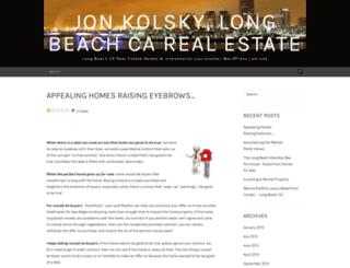 jonkolsky.wordpress.com screenshot