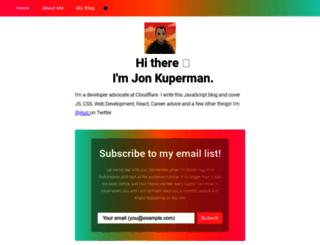 jonkuperman.com screenshot