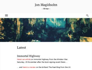 jonmagidsohn.com screenshot
