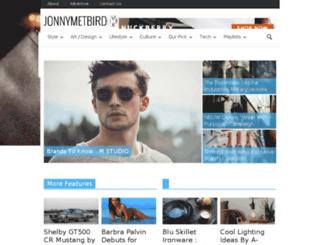 jonnymetbird.com screenshot